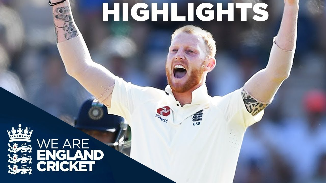 England Secure Test And Series Win   England v India 4th Test Day 4 2018 - Highlights