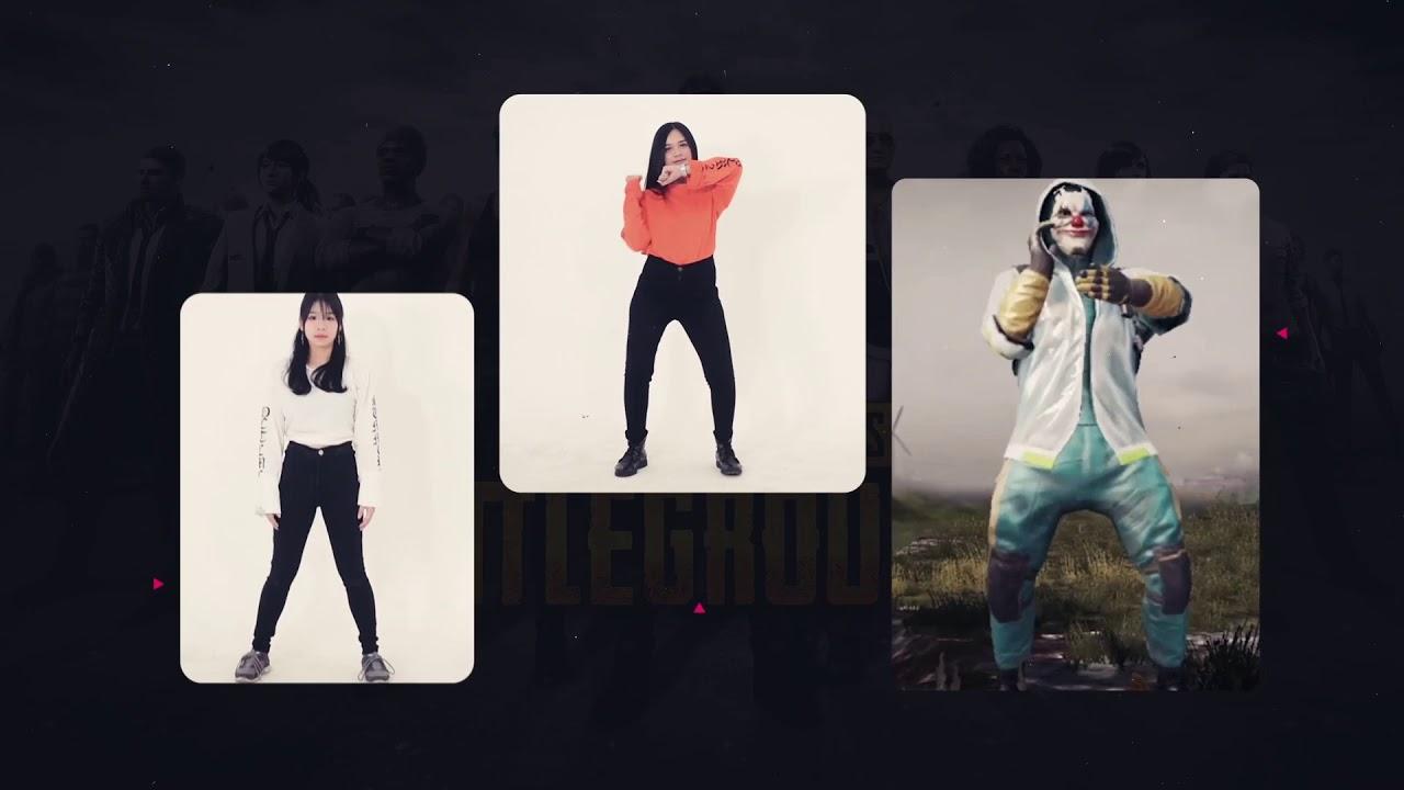Pubg Mobile Dance Di Dunia Nyata Youtube