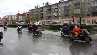 Открытие мотосезона. 05.05.2013 г. Барнаул пр.Ленина