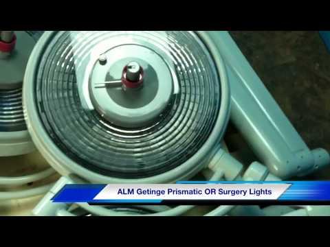 ALM Getinge OR Surgery Lights