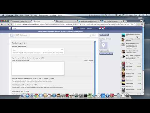 Adding Facebook, Twitter & LinkedIn Buttons on My Facebook P