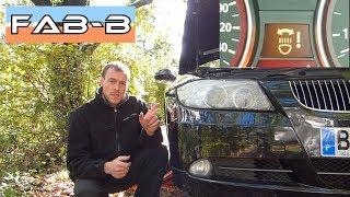 Eclairage de virage en panne sur BMW E90 : Démontage du boitier ALC