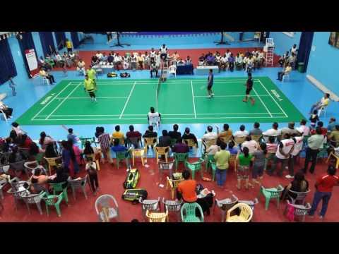 IAU UAE open Badminton Tournament 2016 Classic Categery Final