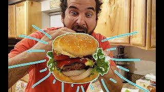 How to make the perfect homemade hamburger!!!
