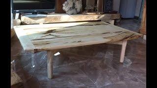 500년 된 팽나무로 만든 좌탁테이블(제작편)500-year old hackberrywooden hadmade sopatable in koreasawmill