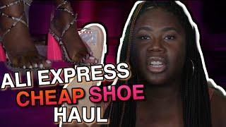 Watch this BEFORE You Order Shoes from Ali Express | Shoe Haul | Fashion Nova Shoe Haul