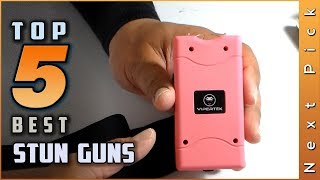 Top 5 Best Stun Guns Review in 2021