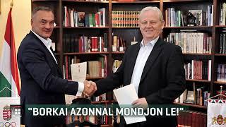 Azonnali lemondásra szólította fel Borkai Zsoltot Tarlós István 19-10-12