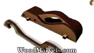 Build Your Own Wooden Future Car B (hd)!