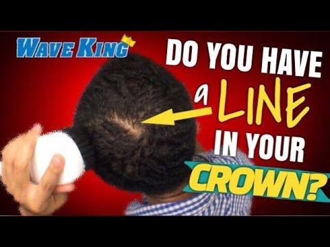 360 Waves: How To Remove the LINE in Your CROWN!! BEST Advice For Your 360 Waves Crown