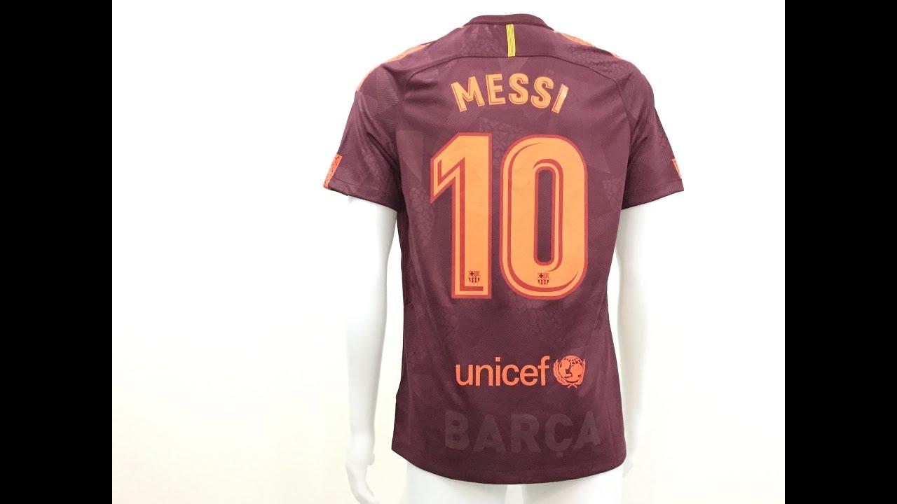 3b053ece7 17 18 FC barcelona Third jersey 17 18 Messi 10