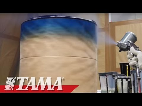 TAMA Drums Factory in JAPAN.