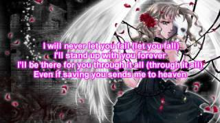 nightcore-your guardian angel lyrics