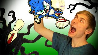 Download SONIC NOOO WHY??? Pancake Art Challenge Slender Man, Superheroes DIY FOOD ART Mp3 and Videos