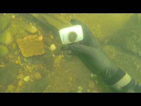 Found Lost Action Camera Underwater in River While Scuba Diving! (Does it Still Work??)