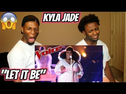 "The Voice 2018 Kyla Jade - Semi-Finals: ""Let It Be"" (REACTION)"