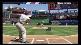MLB 10 The Show (PS3) Nationals vs. Royals Pt. 1