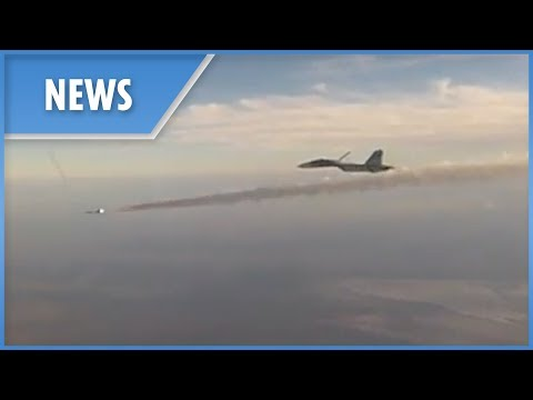 Russian Air Force show off in the midst of NATO war games