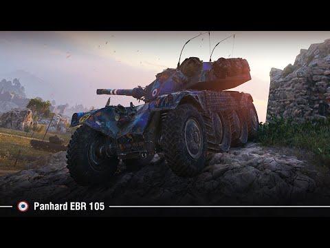 Panhard EBR 105   Что по колёсникам?