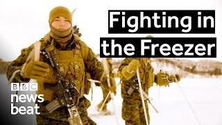 Fighting in the Freezer  |  BBC Newsbeat