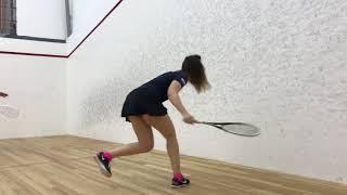 Squash, урок #7. Парная тренировка, игровые сеты.