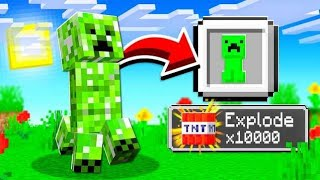 TURNING MOBS INTO ITEM PETS IN MINECRAFT!