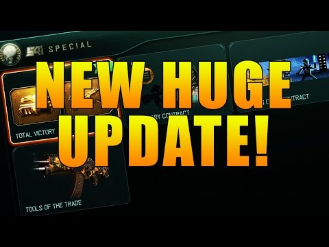 NEW UPDATE IN BLACK OPS 3! BOXING GLOVES REMOVED, UNDERWORLD CAMO GAMEPLAY, & COMPLETING CONTRACTS!