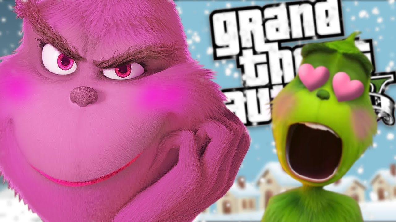 the-new-grinch-gets-a-girlfriend-mod-gta-5-pc-mods-gameplay