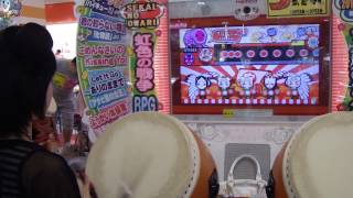 太鼓の達人キミドリver. 紅(鬼)フルコンボ byみくぴ~ みくぴ 検索動画 21