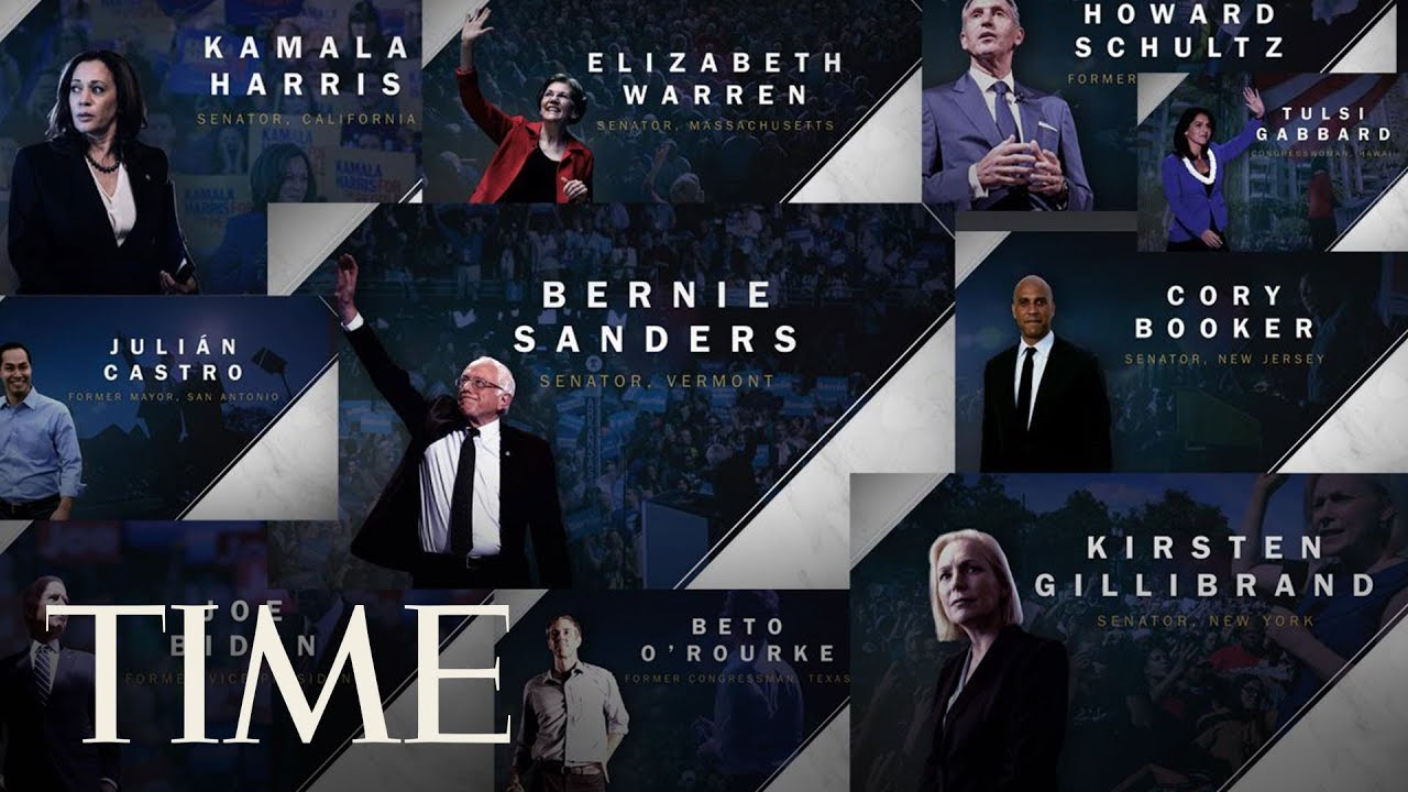 'I Am A Candidate': The 2020 Race Begins   TIME