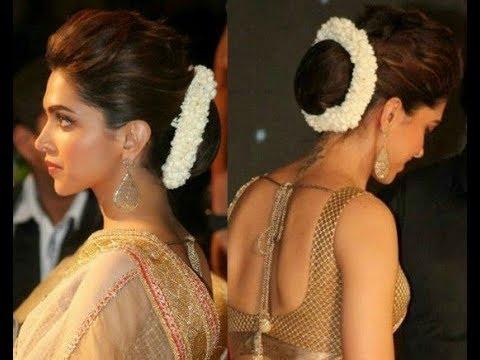 Deepika Padukone hairstyle in 2 minute || Deepika Padukone ...