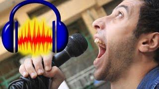 طريقة فصل الصوت عن الموسيقي للأغاني (كاريوكي)برنامج أوداسيتي Audacity Karaoke