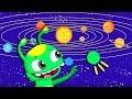 [NOUVEL ÉPISODE] Groovy the Martian & Phoebe apprennent les planètes - Dessins animés pour enfants
