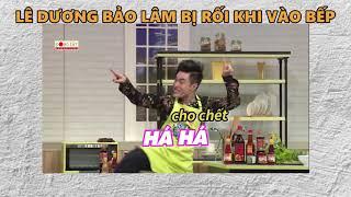 Lê Dương Bảo Lâm lúng túng khi lần đầu vào bếp   Khi chàng Vào Bếp Tập 11 (18/09/2018)