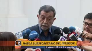 Canal 13 - EXTRA - Gobierno presentará querella por atentado contra Óscar Landerretche