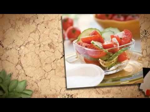 Tomato and Cucumber Salad - gestational diabetes recipes