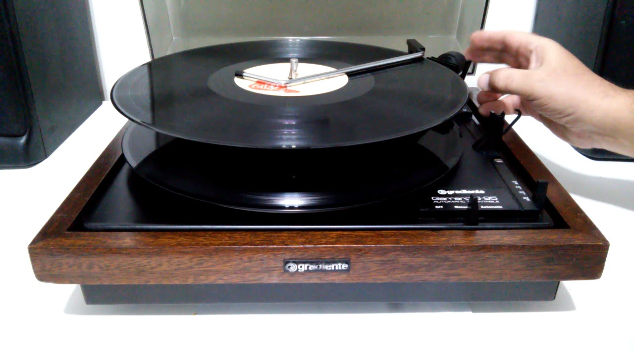 Toca Discos Gradiente Garrard S95 Restaurado