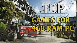 GAME Pc Dengan RAM Di Bawah 4GB 2018