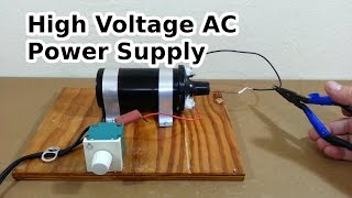 DİY Yüksek Voltaj AC Güç Kaynağı