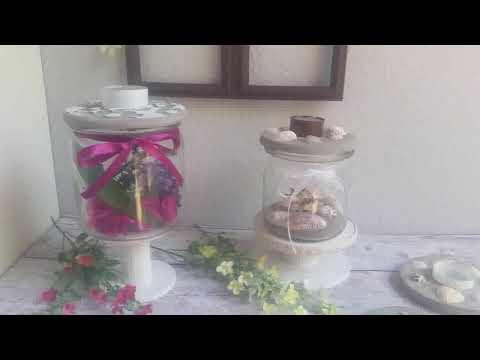 deko-deckel-aus-beton/knetbeton-für-gläser