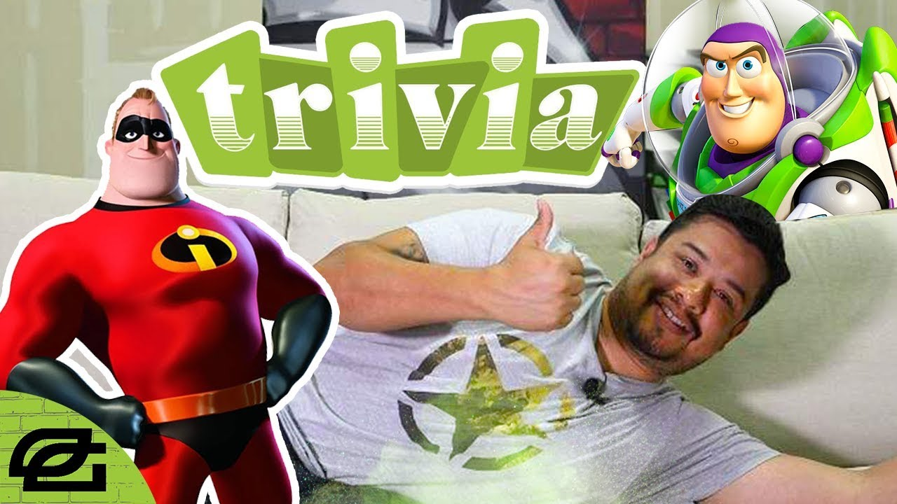 Gaming NAME THAT PIXAR CHARACTER AND FILM! (OpTic Trivia)