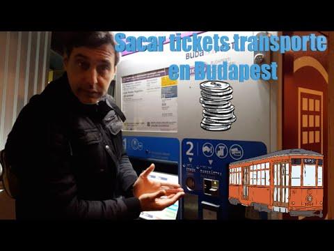 Máquinas expendedoras de tickets de Transporte de Budapest (MibauldeblogsTV)