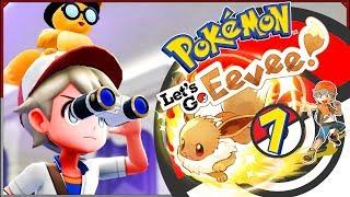 Pokemon: Let's Go, Eevee! #7 - Łapanie duchów, R Zespołów i innych trawiastych oké poké