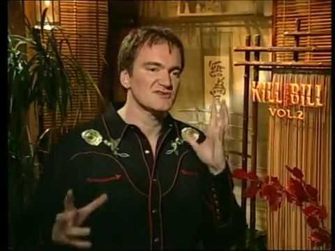 Quentin Tarantino Kill Bill 2 Interview Rare