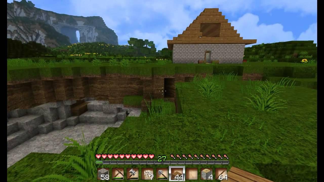 Letu0027s Play Minecraft[Deutsch][HD] Folge #9: Innen  Und Außendeko