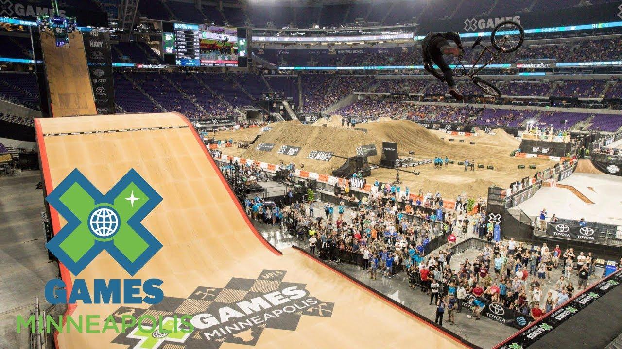 James Foster Wins Bmx Big Air Gold X Games Minneapolis