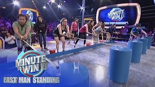 Repeat youtube video Go The Distance | Minute To Win It - Last Duo Standing