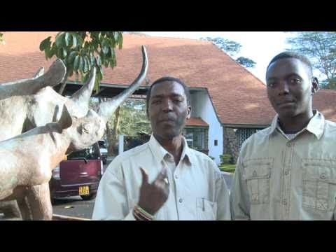 Kenya Safari Guides Joshua Mwariri and Mike Njenga