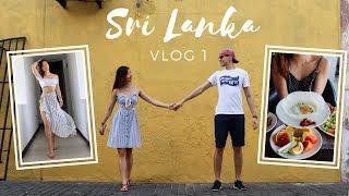 WHAT WE EAT & DO IN SRI LANKA! TRAVEL VLOG 1 (Bentota, Galle)