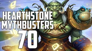 Hearthstone Mythbusters 70 - RASTAKHANS RUMBLE SPECIAL!